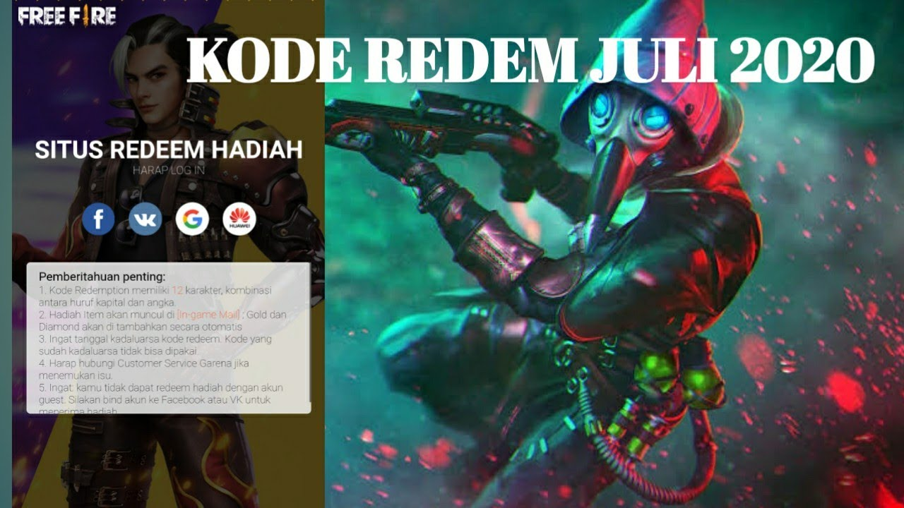 KODE REDEM JULI 2020 - YouTube