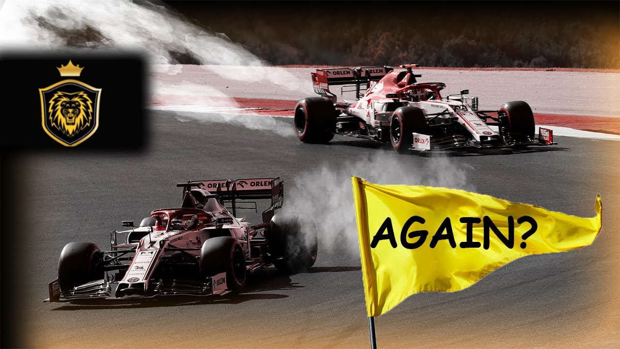 HOW YOU SHOULD REALLY RACE in Formula 1 [things get a bit intense]