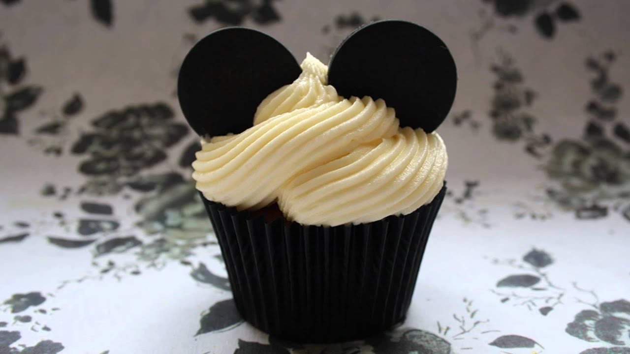how to make disney cupcakes