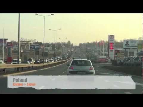 Time Lapse Drive in Poland - HD