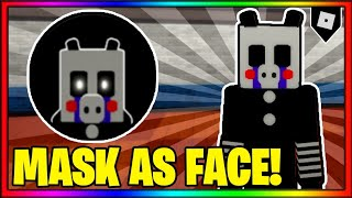 How to get the MASK AS FACE BADGE PUPPET SKIN MORPH in PIGGY RP W I P REMAKE ROBLOX