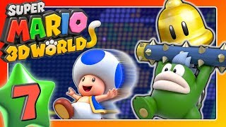 SUPER MARIO 3D WORLD 🐱 Part 7: Disco-Pogo, Trampolin-Ärger & Öffentlich-rechtliche Nachzahlung