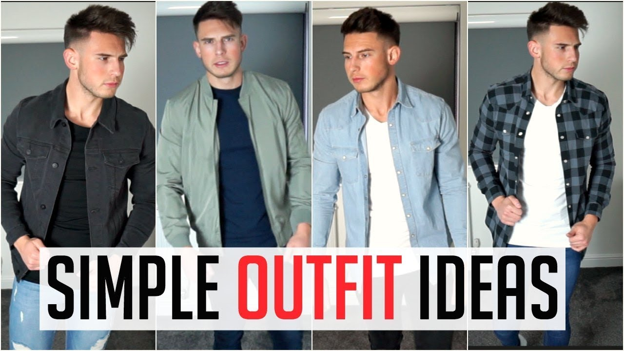 4 Affordable Simple Outfits For Men In 2018 Asos Topman Zara