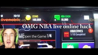 NBA live mobile hack - how to get unlimited coins and NBA Cash ios/android