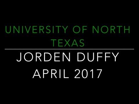 University of North Texas Visit with Jorden