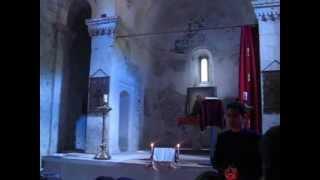 В монастыре Сурб-Хач около Старого Крыма(21.09.2013. С Кристин Шайо. Видео - Лидия Лозовая., 2013-09-24T12:56:06.000Z)