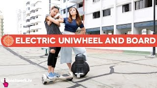 Electric Uniwheel And Hoverboard - Hype Hunt: EP4