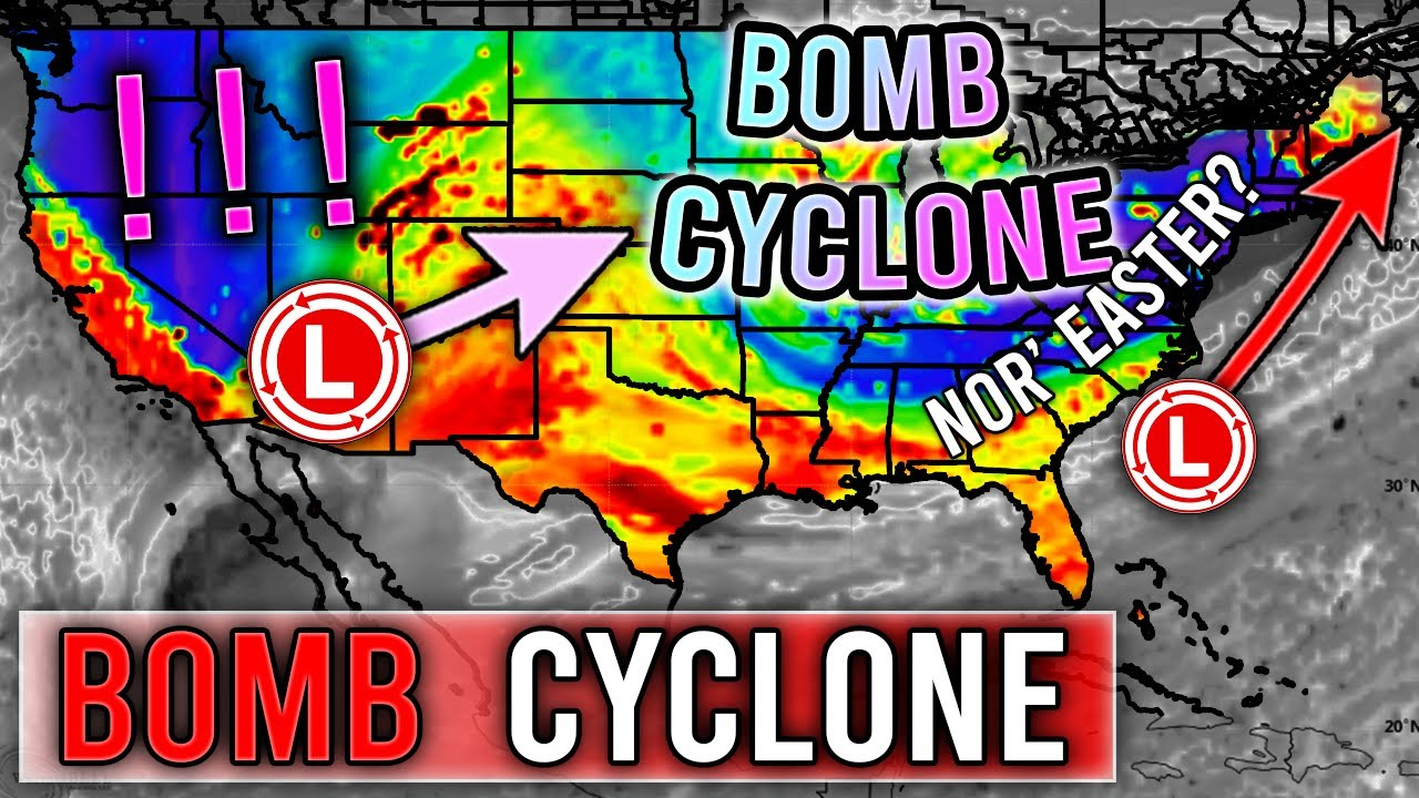 Upcoming BOMB Cyclone! 4 Feet of Snowfall? 10 + Inches of Rain? Monster Storm