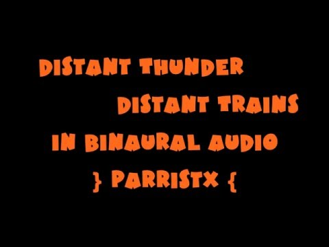 (AUDIO ONLY) Distant Thunder, Distant...