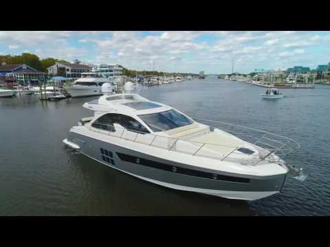 Luxury and Comfort: 2017 Azimut 55S Yacht For Sale at MarineMax Wrightsville Beach