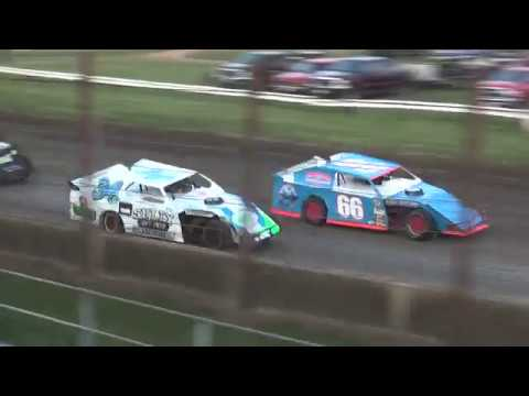 21st Annual Liberty 100 IMCA Sport Mod feature West Liberty Raceway 9/23/17