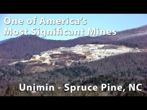 One Of America's Most Significant Mines - Unimin - Spruce Pine NC