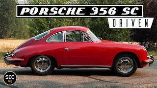 4K - Porsche 356 1600 SC Super Carrera Reutter Coupé 1963 Drive in top gear - Engine sound