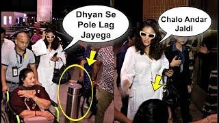 Kajol Taking Care Of Ajay Devgan Mother At Airport
