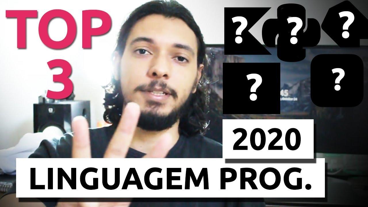 TOP 3 LINGUAGENS DE PROGRAMAÇÃO PARA APRENDER EM 2020 (E CONSEGUIR EMPREGO EM TI)