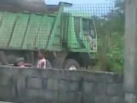 Sewage Truck ON ANOTHER DUMP RUN, Zambales RP Violations under Philippines RA9003