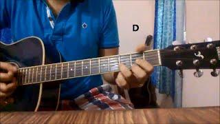 Daayre Guitar Lesson | Guitar Chords | Arijit Singh | Dilwale