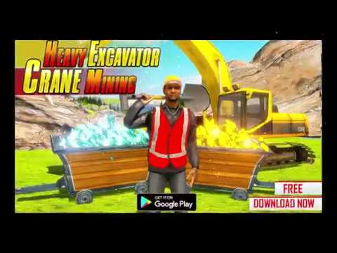 Gold Digger Heavy Excavator Crane Mining Games