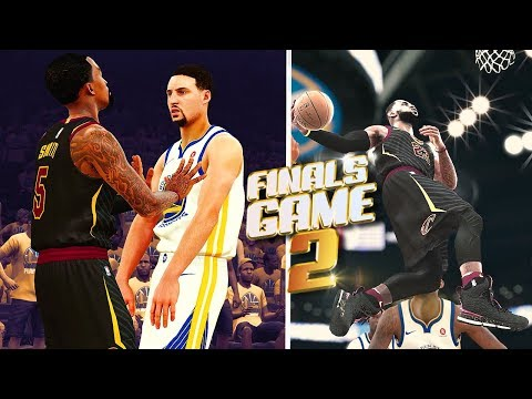 Cleveland Cavaliers vs Golden State Warriors Finals Game 2 - NBA 2K18 Predictions