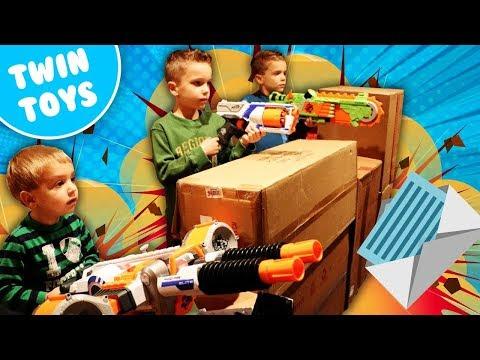Nerf War:  Mail Time Mayhem 24