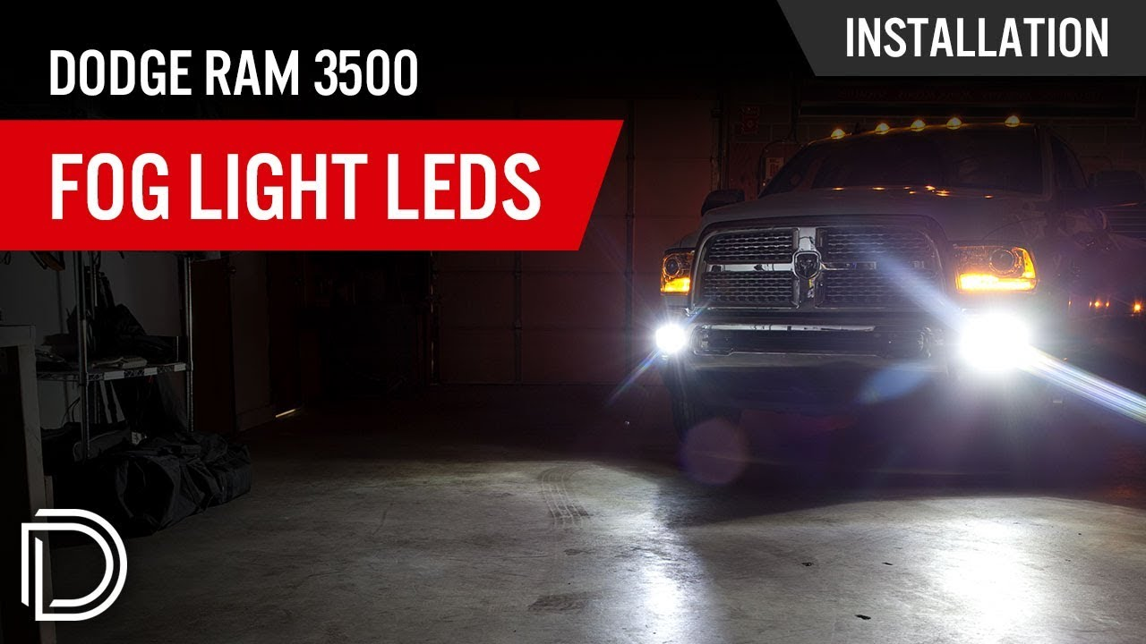 How To Install Dodge Ram 3500 Fog Light Leds