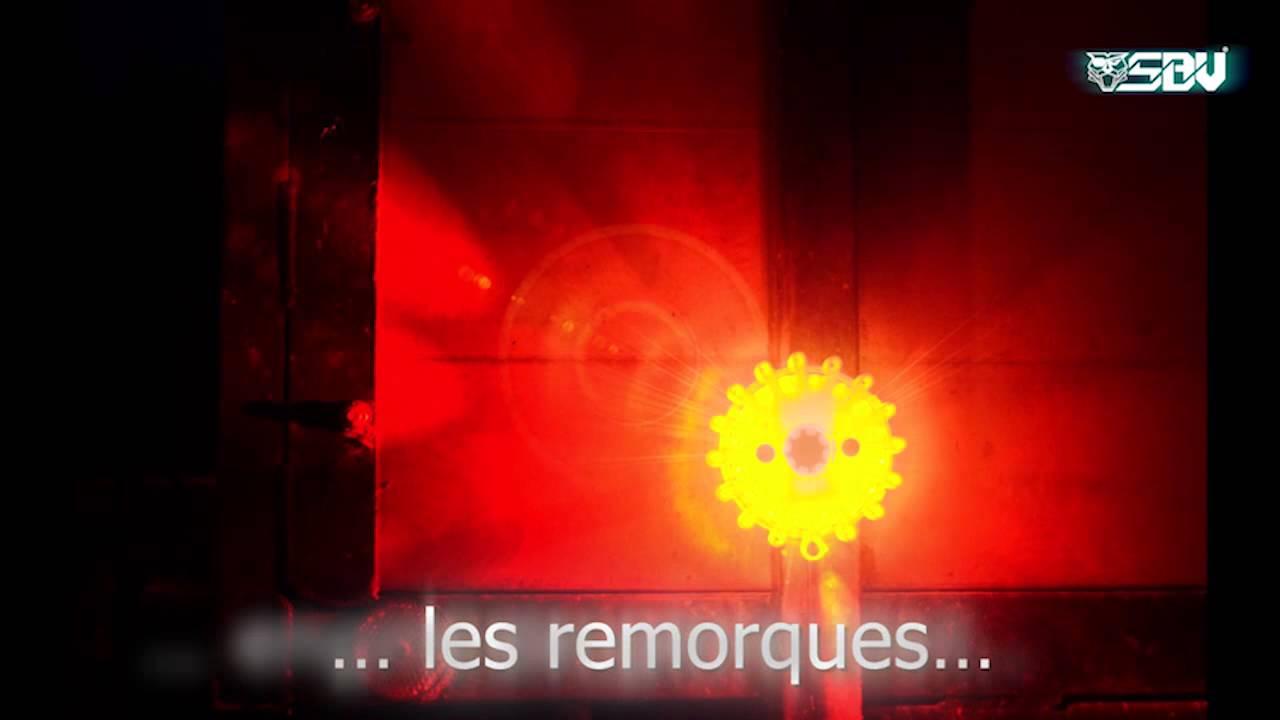 De Aimant RechargeableAvec Lampe Orange Sécurité Sbv Led kX0OnPN8w