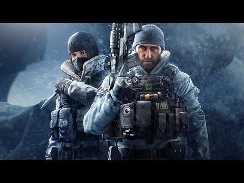 Rainbow Six Siege New Operators Gameplay Loadouts Bio Frost & Buck PLATINUM RANK