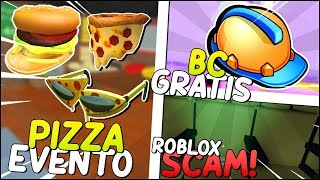 PIZZA PARTY EVENT COMING up, ROBLOX bug gab TBC FREE! ROBLOX ist SCAMANDO Sie und MEHR! 😱