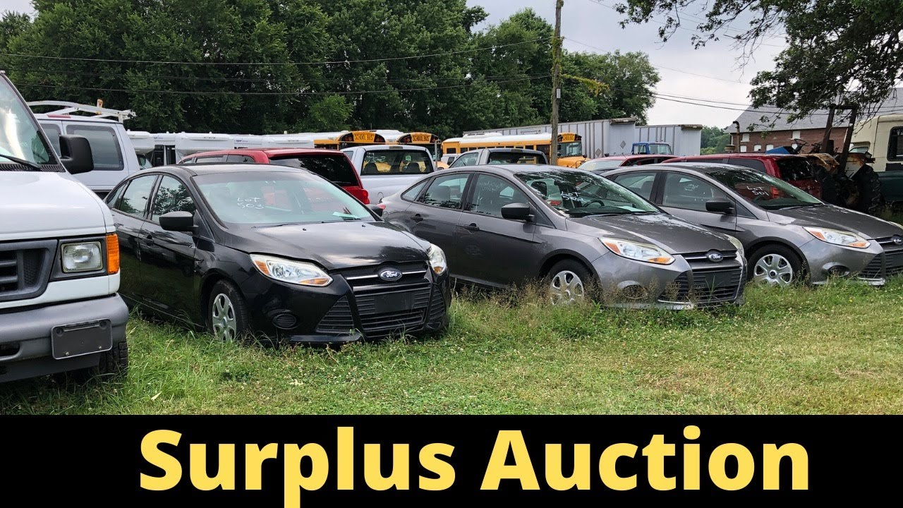 SURPLUS AUCTION