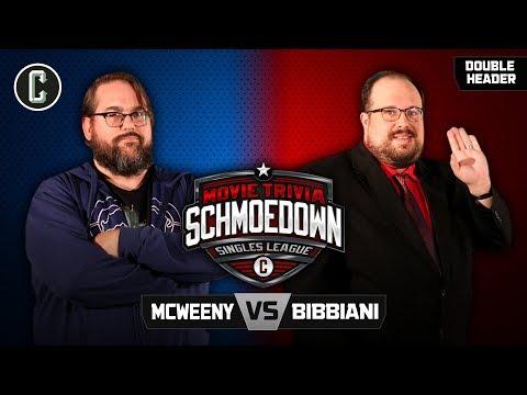 Drew McWeeny VS William Bibbiani / Josh Macuga VS Nick Scarpino - Movie Trivia Schmoedown
