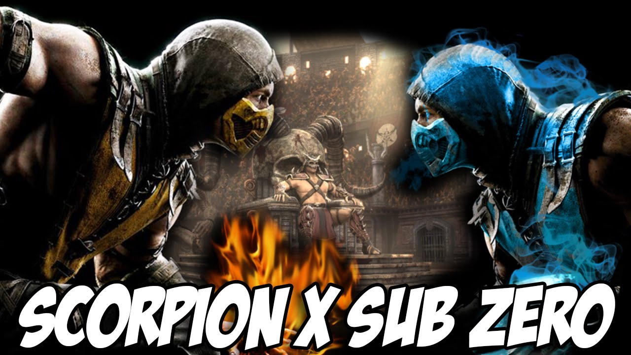 Mortal Kombat X A Historia Scorpion X Sub Zero Youtube