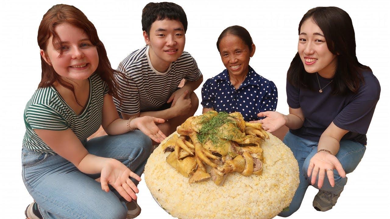Bà Tân Vlog - Làm Mâm Xôi Gà Khổng Lồ Ăn Mừng Đạt Huân Chương Kỷ Lục Việt Nam