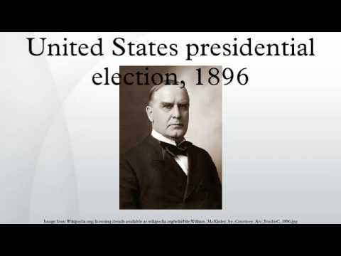 United States presidential election, 1896
