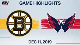 NHL Highlights | Bruins vs. Capitals - Dec. 11, 2019