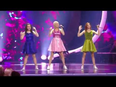 Lauren, Jindra en Hanne zingen 'Oma's aan de top'   K3 zoekt K3   SBS6