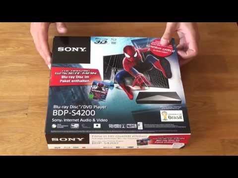 Sony BDPS4200 Unboxing und Test Bluray, USB, Netflix deutsch