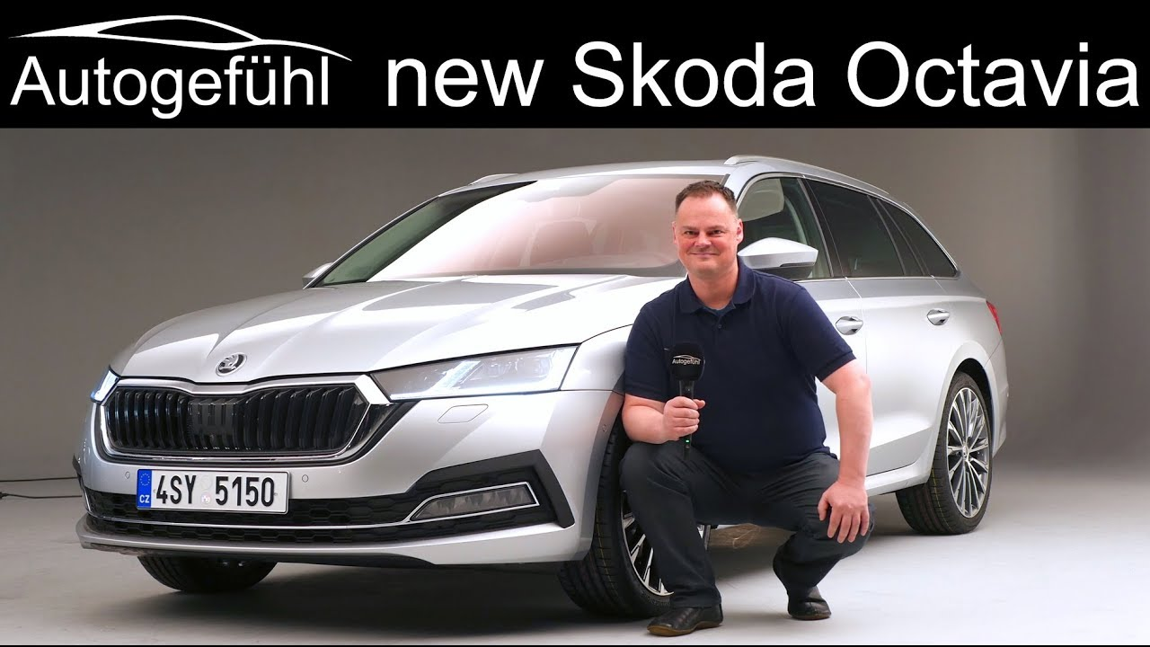 All New Skoda Octavia Review Combi Vs Sedan Exterior Interior 2020