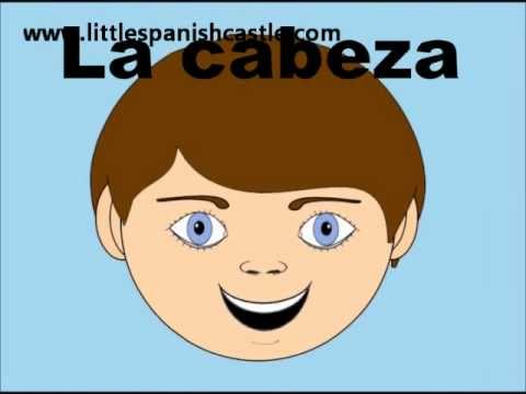 Spanish Vocabulary Parts Of The Face In Spanish Youtube