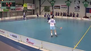 10. 3. 2018 MEX 1. štvrťfinále play off, Tsunami Záhorská Bystrica - FBC Mikuláš Prešov, Slovenský zväz florbalu