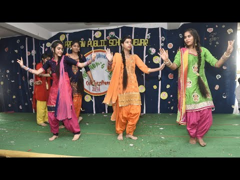 Punjabi Dance By 11th Class Girls On Teachers Day Celebration-2018