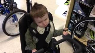 Frankie's Thank You to Project Mobility!