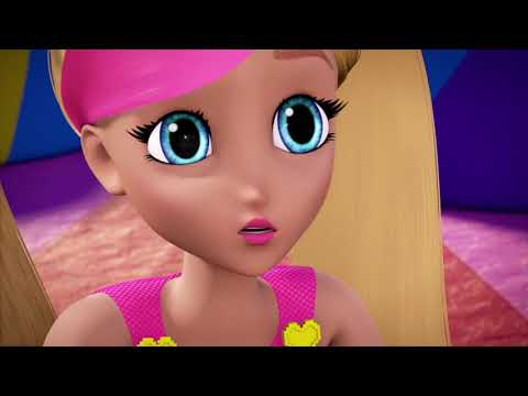 Barbie giải cứu thế giới trò chơi Barbie Video Game Hero