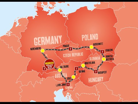 Travelling around Eastern Europe in Summer 2015