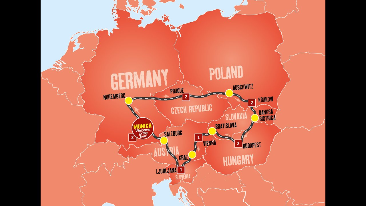 Day Tour Of Eastern Europe