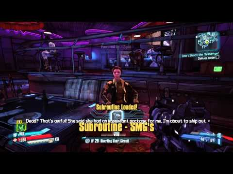 Borderlands The Pre-Sequel Side Missions - Don't Shoot the Messenger