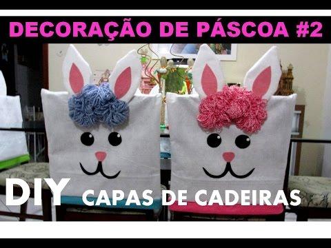 Capas de Cadeira para Páscoa - Decoração de Páscoa #2