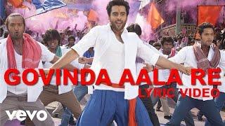Govinda Aala Re Lyric - Rangrezz | Jackky Bhagnani | Sajid Wajid