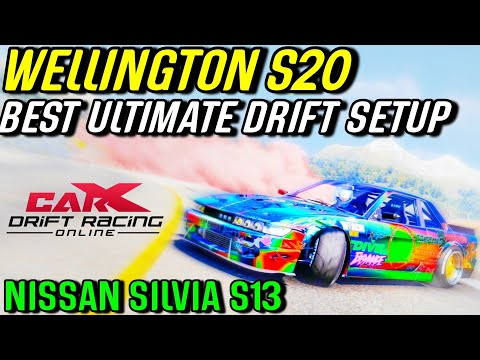 CarX Drift Racing PS4 - Best Wellington S20 Ultimate Drift Setup