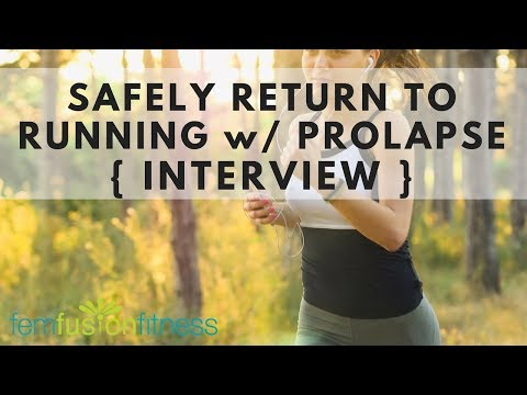 How to Return to Running with Prolapse  {Interview w/ Emma Brockwell}