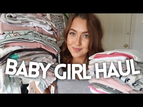 FIRST BABY GIRL HAUL